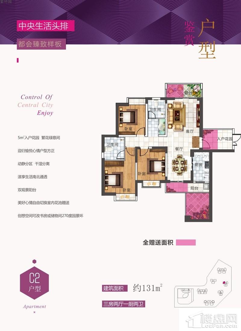 紫竹园C2户型图