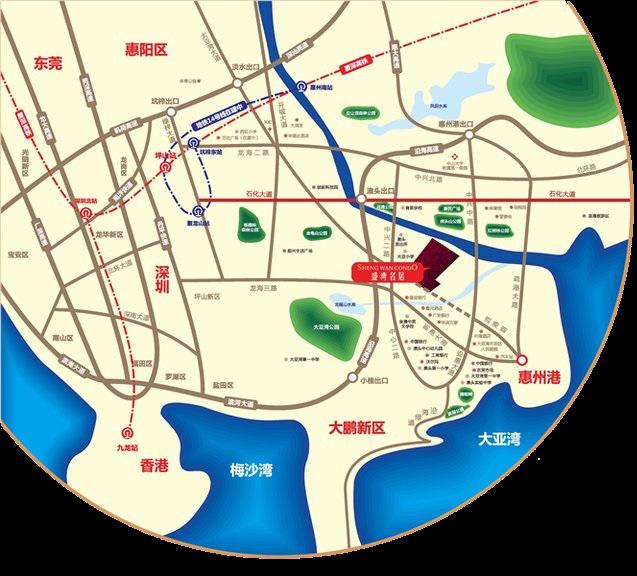 盛湾名居位置图