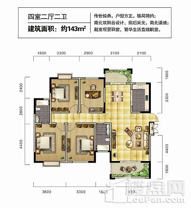 湘潭中央道户型图