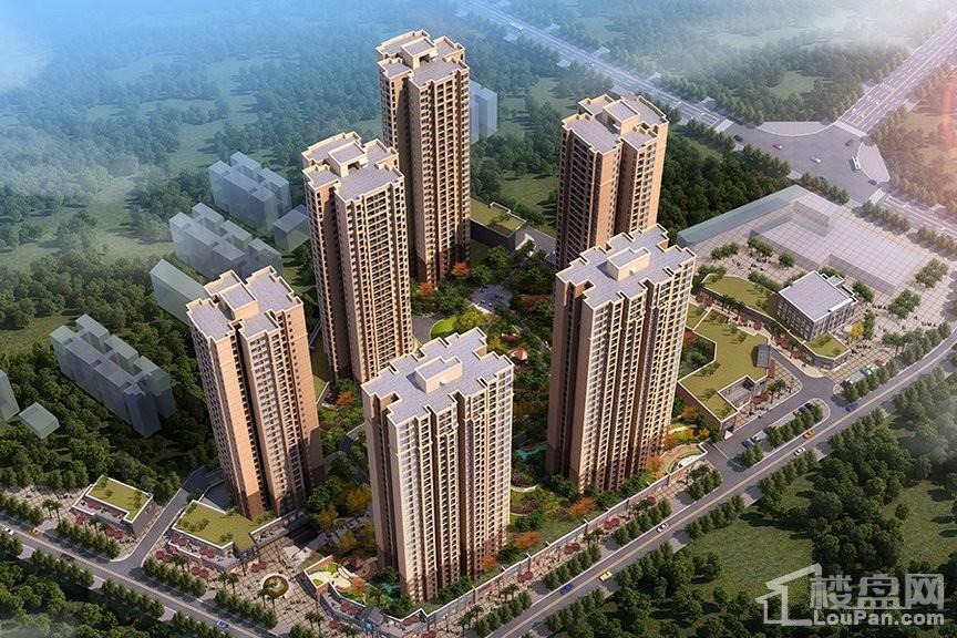 天泰钢城印象效果图