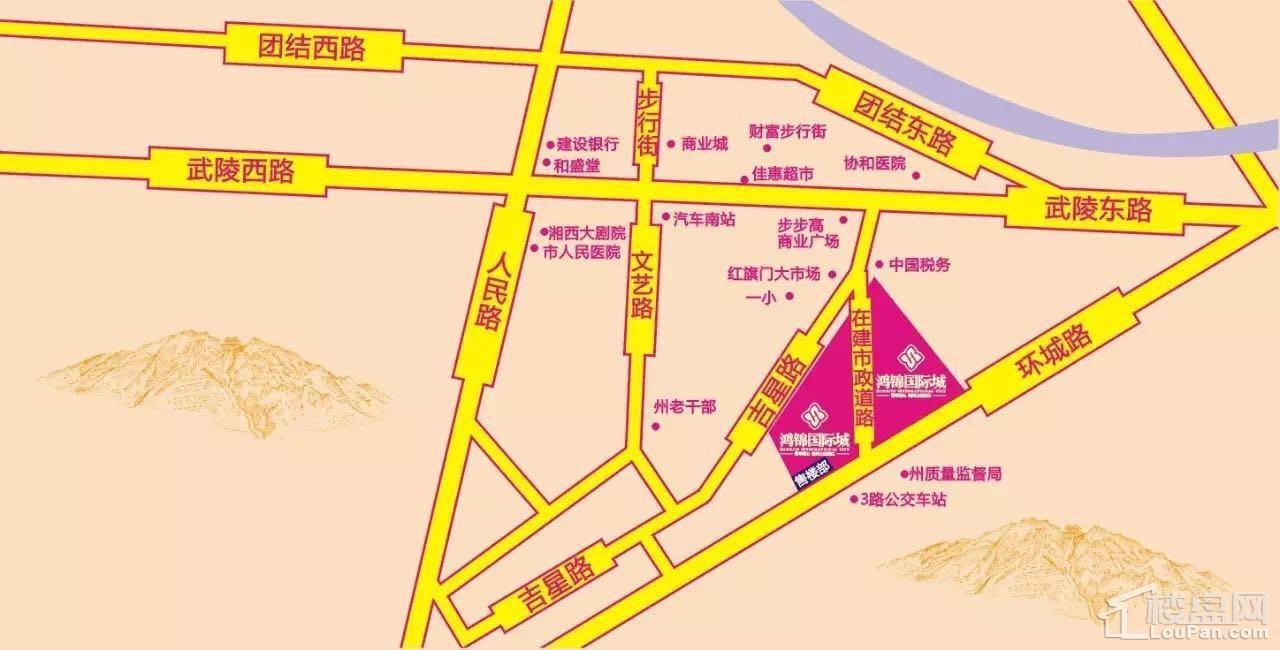 鸿锦国际城位置