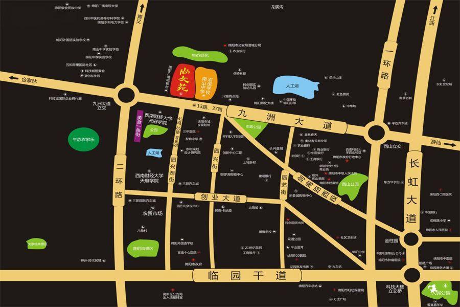 尚文苑位置图