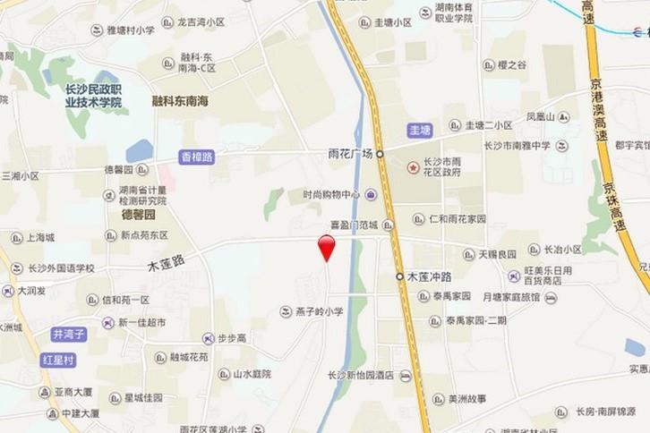 鑫苑木莲世家位置图