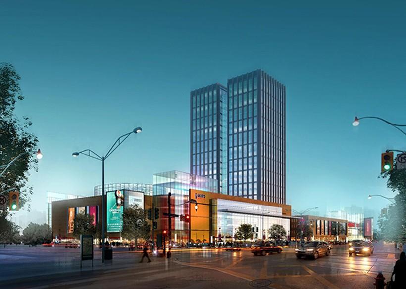 国盛商业广场实景图