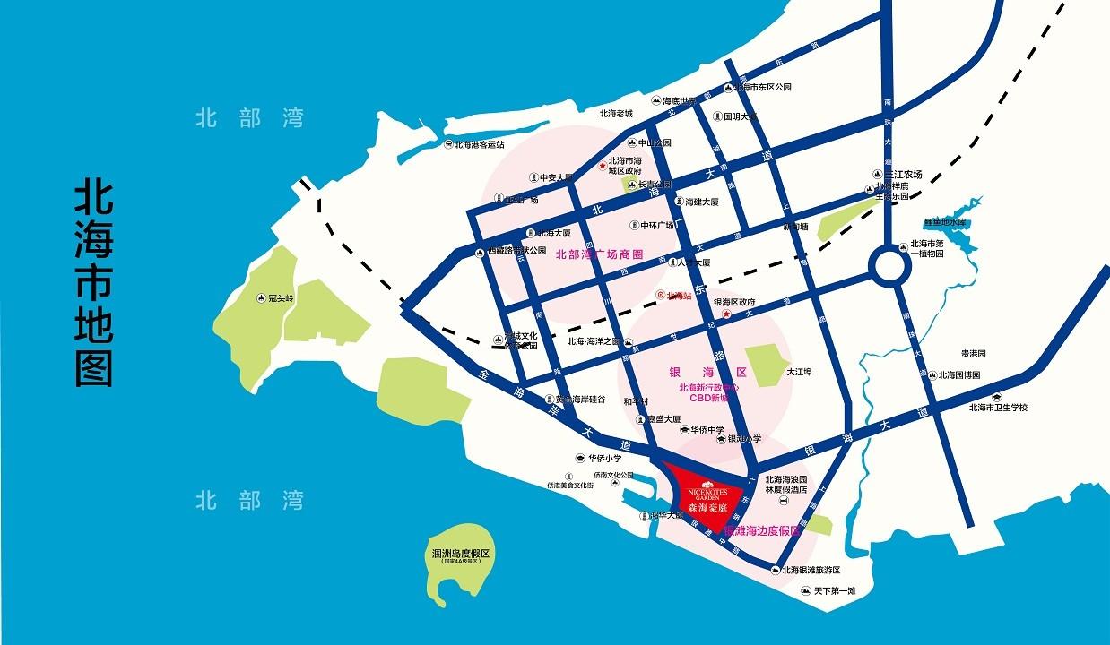 森海豪庭位置图