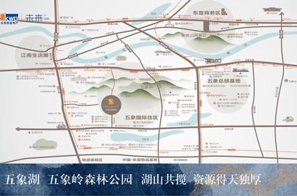 合景香悦四季位置图