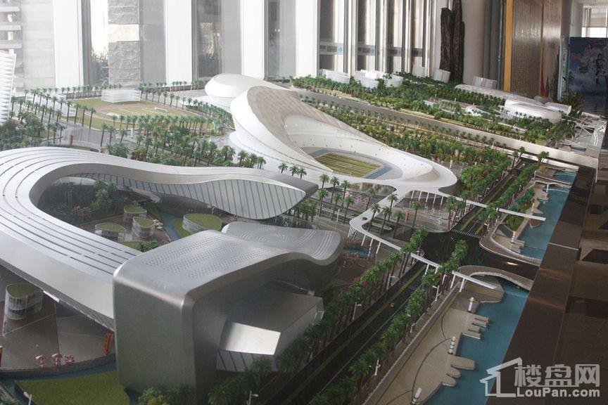 绿地·中央文化城实景图