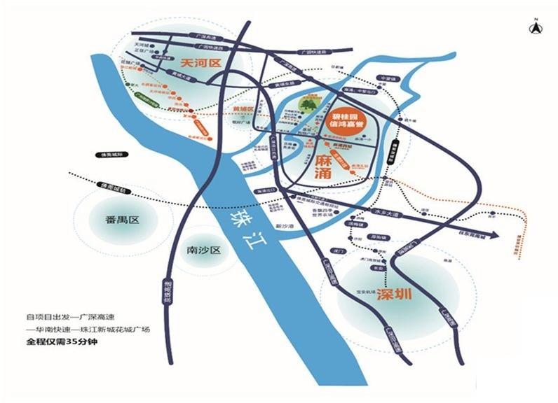 碧桂园·信鸿嘉誉位置图