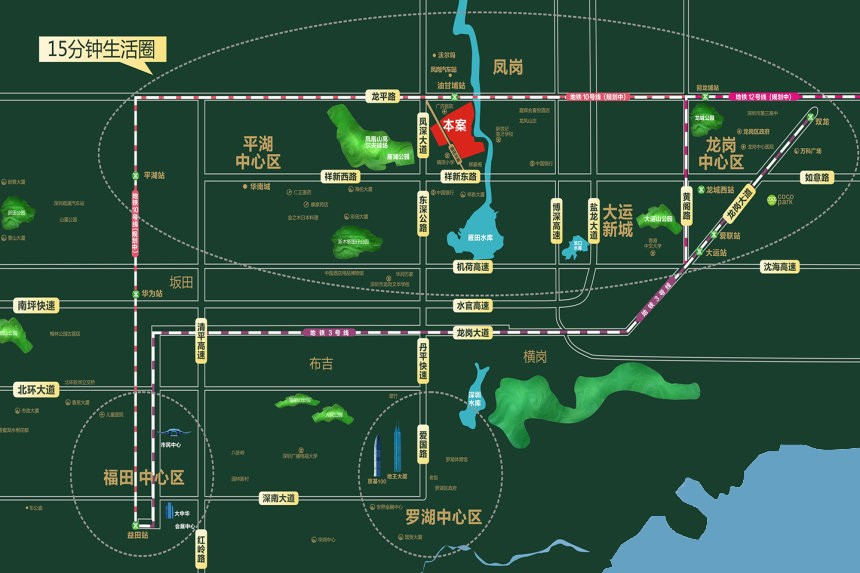 锦龙湾畔位置图