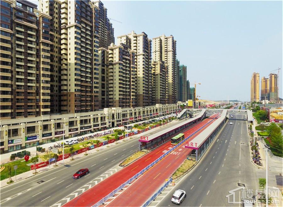 BRT1号站长虹路