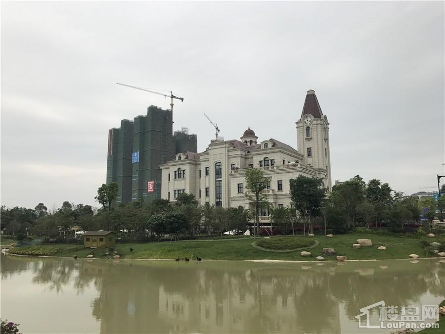 国悦九曲湾实景图(摄于2017.4.24)