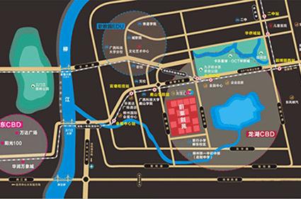 蔚莱别苑位置图