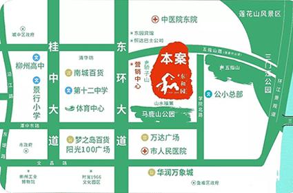 东和园位置图