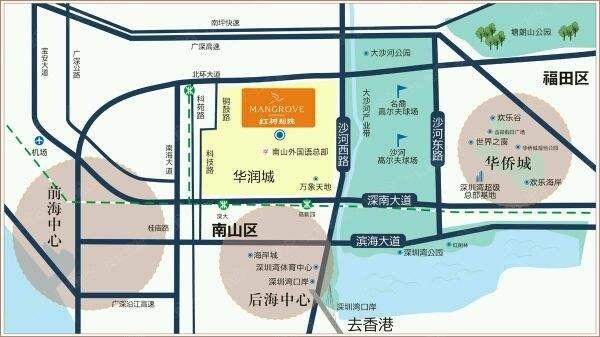 红树别院位置图