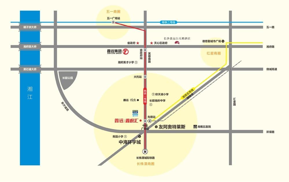 鑫远鑫悦汇位置图