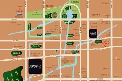 扬州美的城位置图