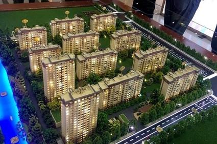 扬州美的城实景图