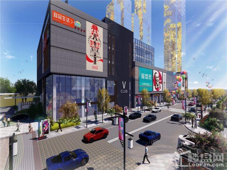 东城新市效果图