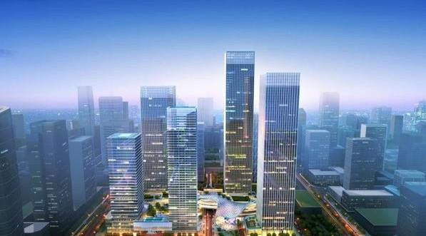 华润前海中心效果图