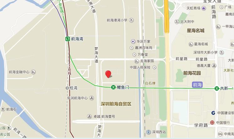 华润前海中心位置图