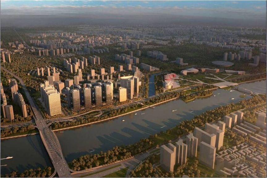 格盟金融城 实景图