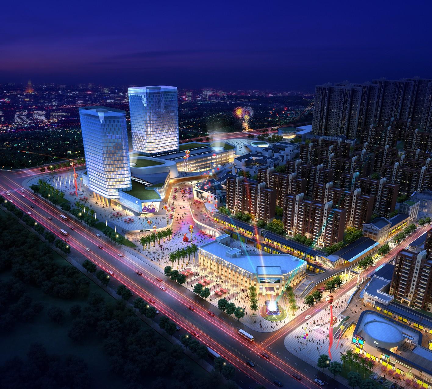 新华联梦想城效果图