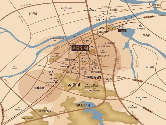 嘉宏锦园位置图
