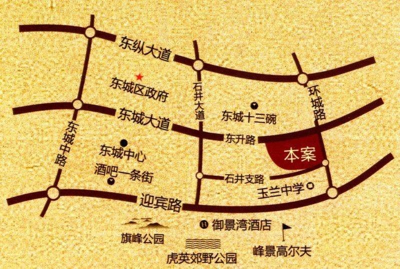 鼎峰尚境位置图