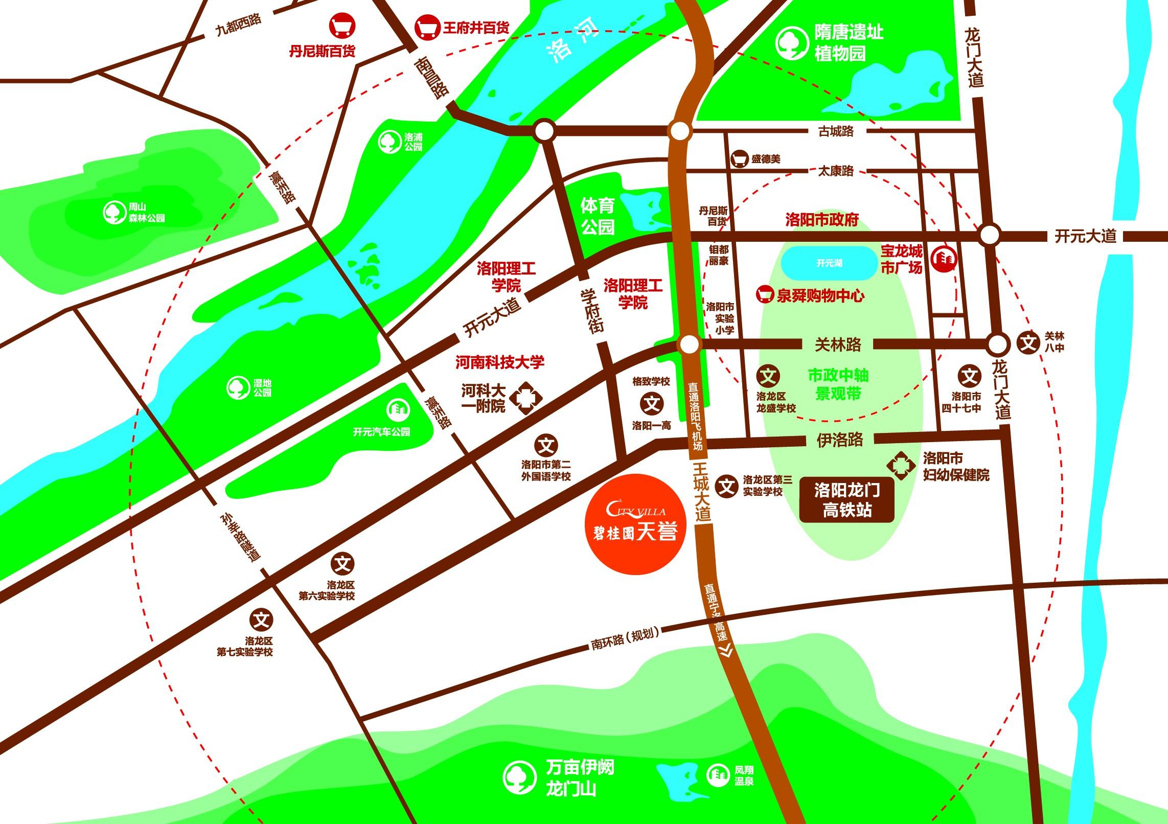 碧桂园·天誉位置图