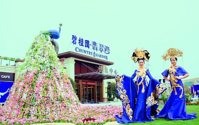 碧桂园·翡翠湾实景图