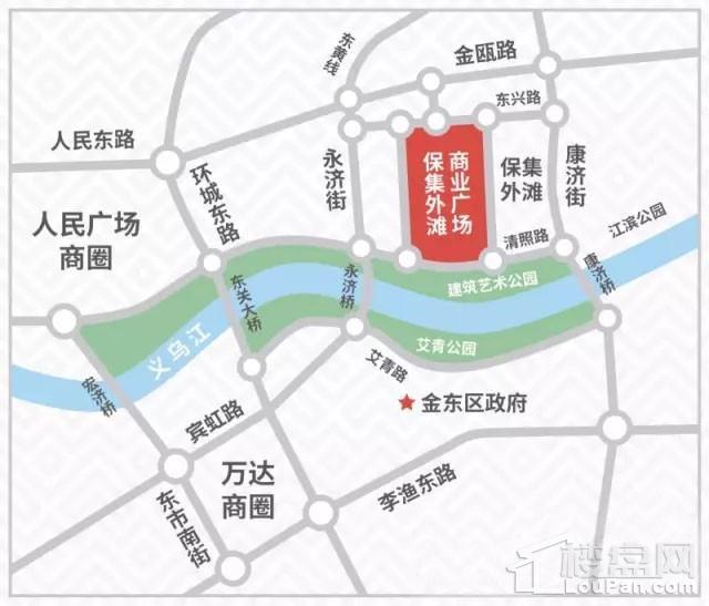 保集外滩商业广场位置图