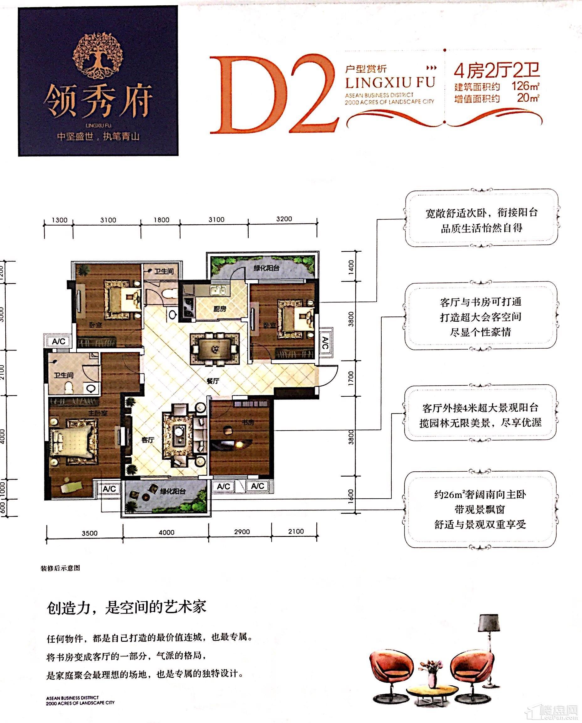 二期3#楼D2户型
