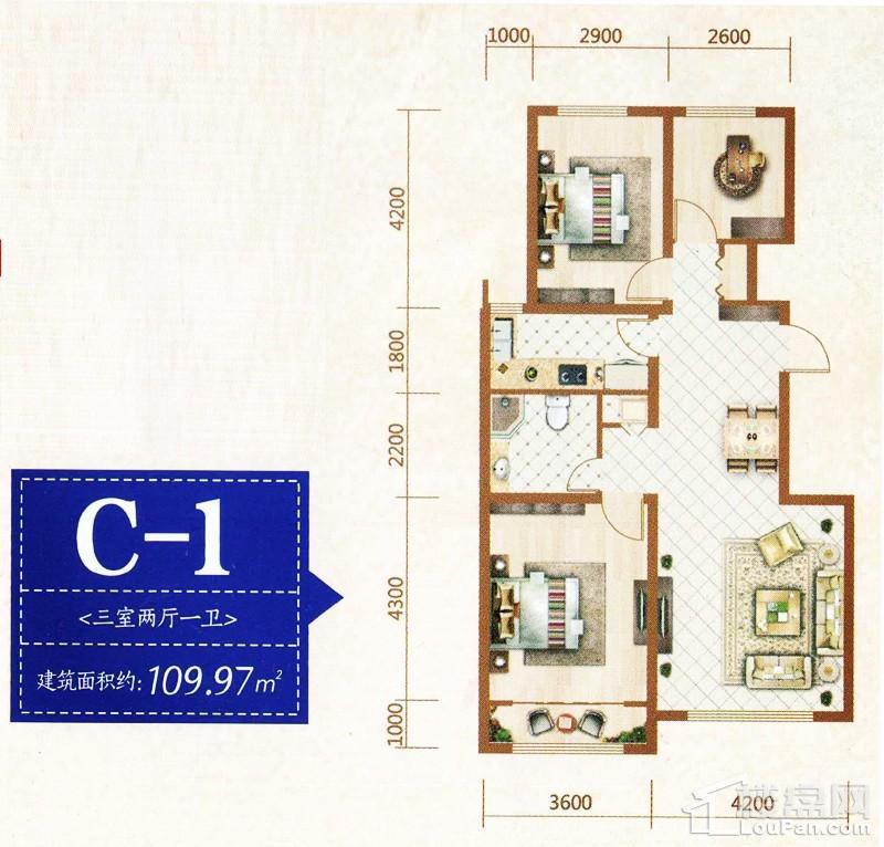 B区C-1户型
