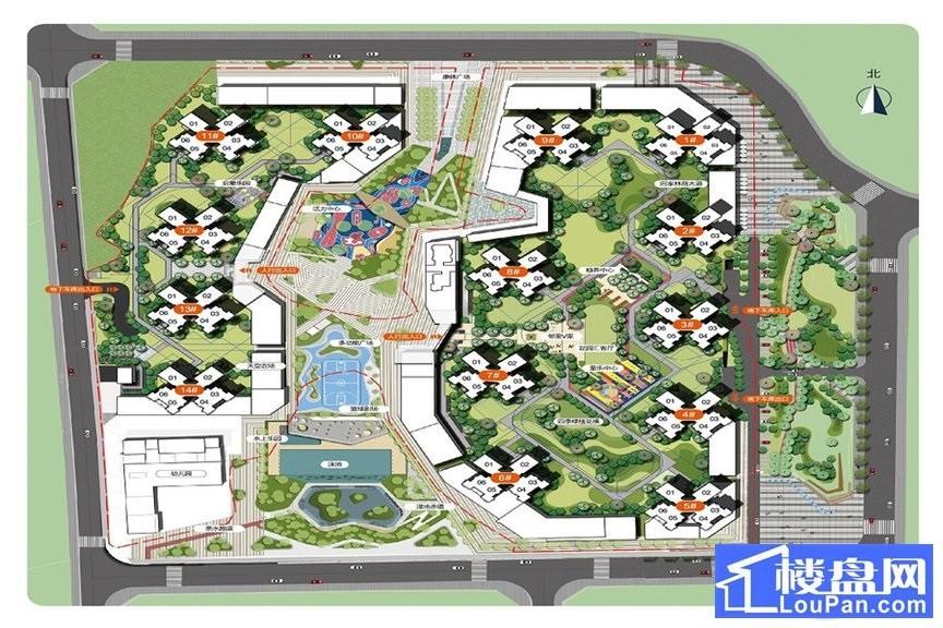 万科中天城市花园效果图