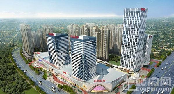 柳州万达广场效果图