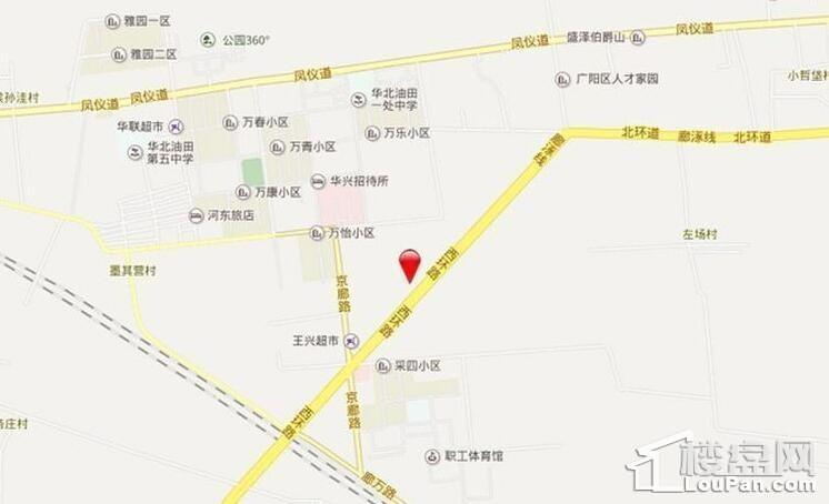 新空港孔雀城2期位置图