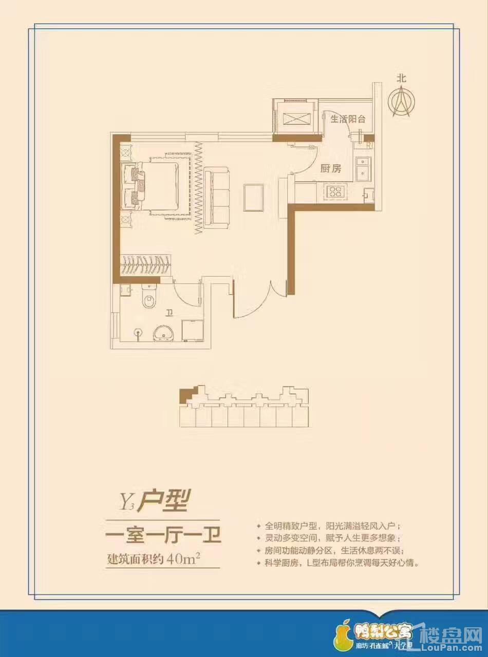 Y3户型公寓