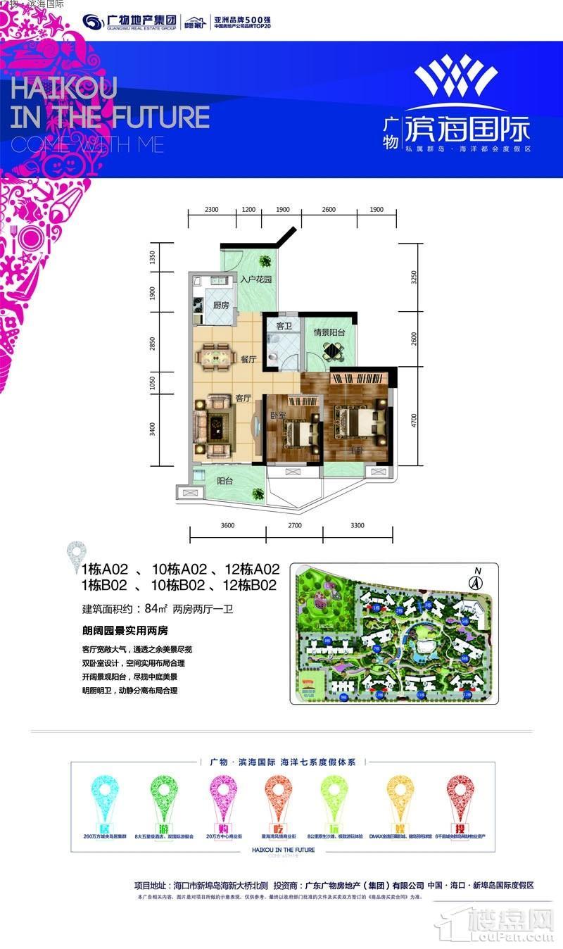 广物·滨海国际1栋10栋12栋A02/B02
