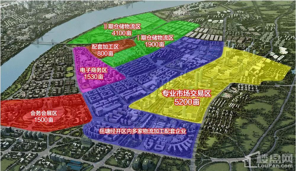 岳塘商贸城效果图片