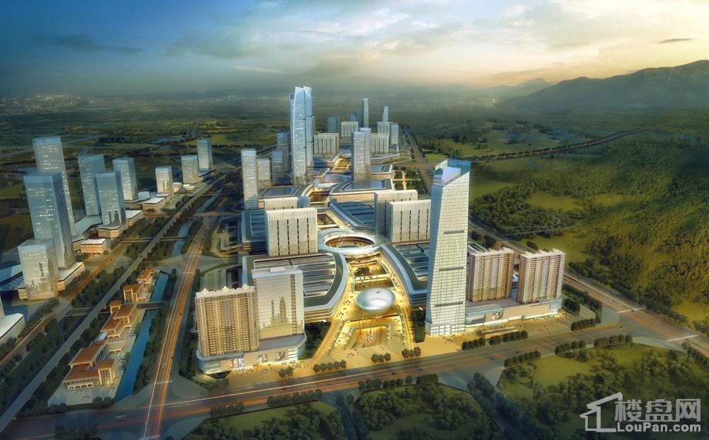 岳塘商贸城一期规划图