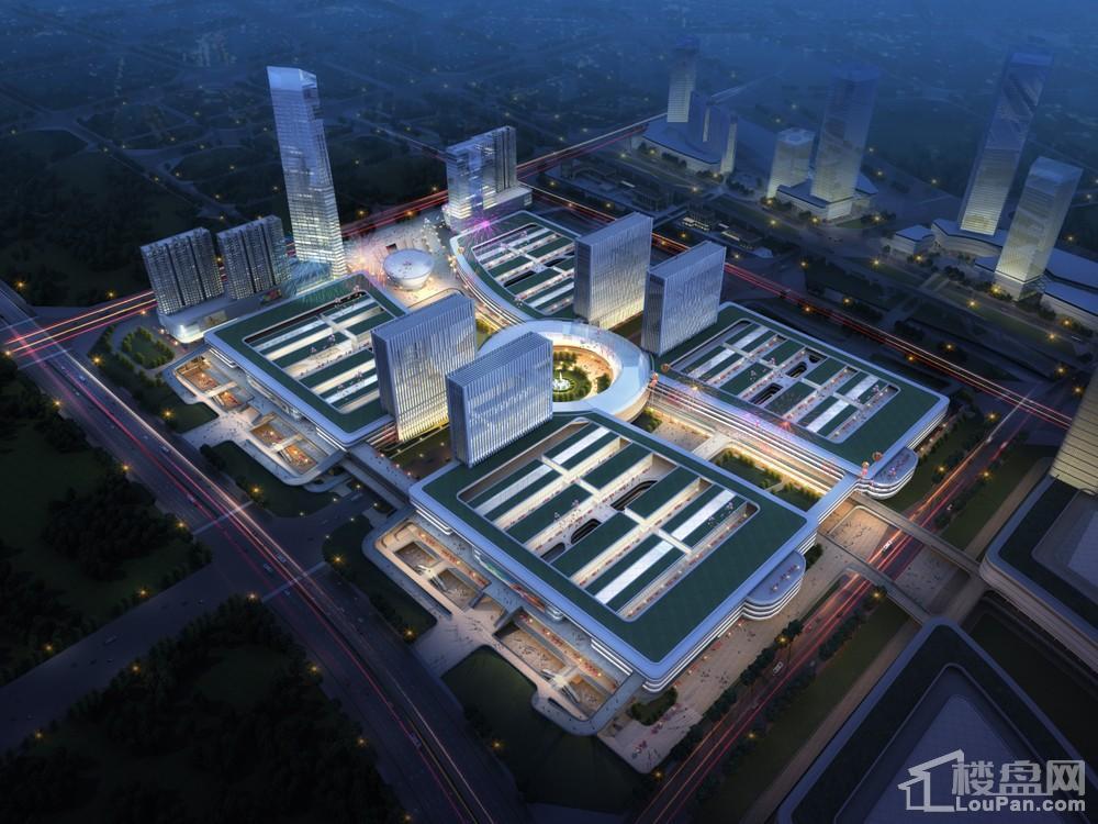 岳塘商贸城一期一阶段规划图