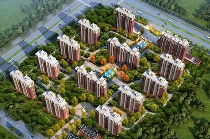 鸿泰·花漾城三期效果图