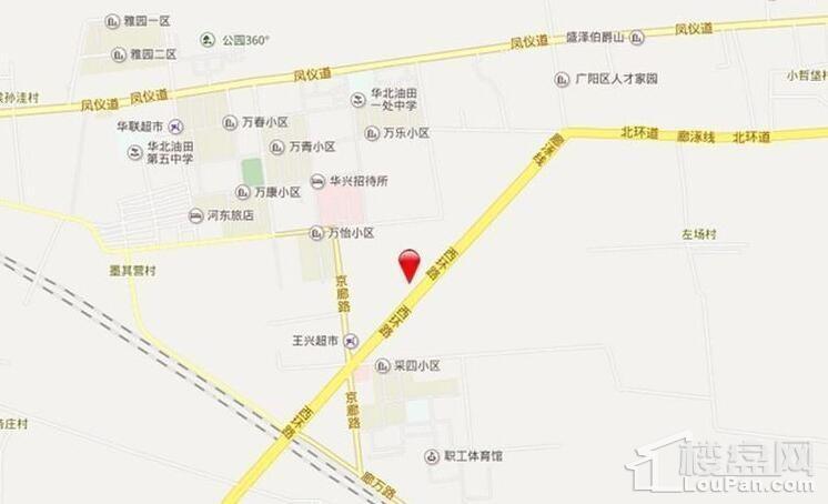 新空港孔雀城位置图