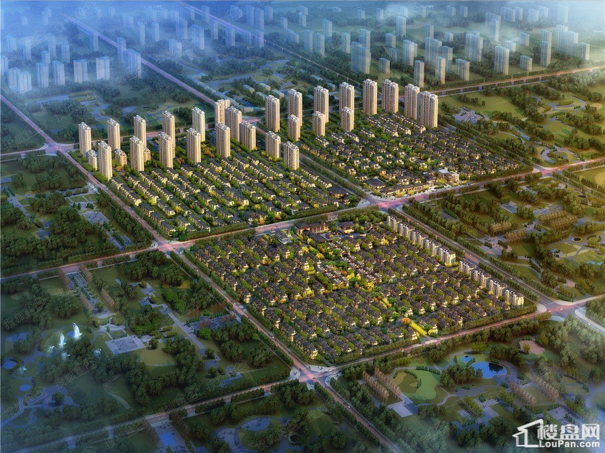 霸州温泉新都孔雀城效果图