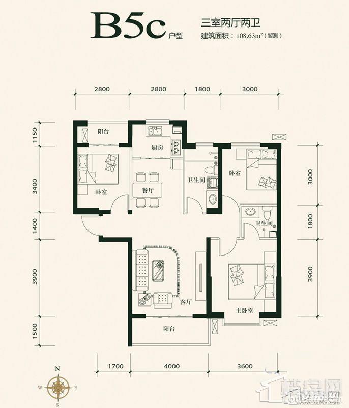 B5c户型