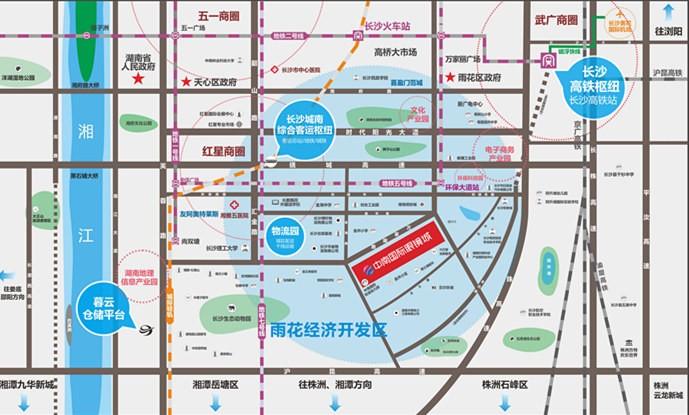 中南国际眼镜城位置图