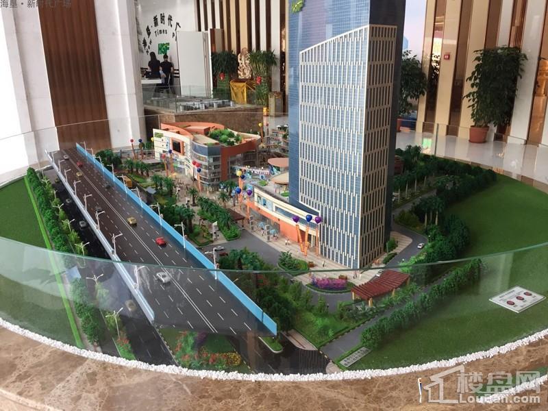 海垦广场实景图