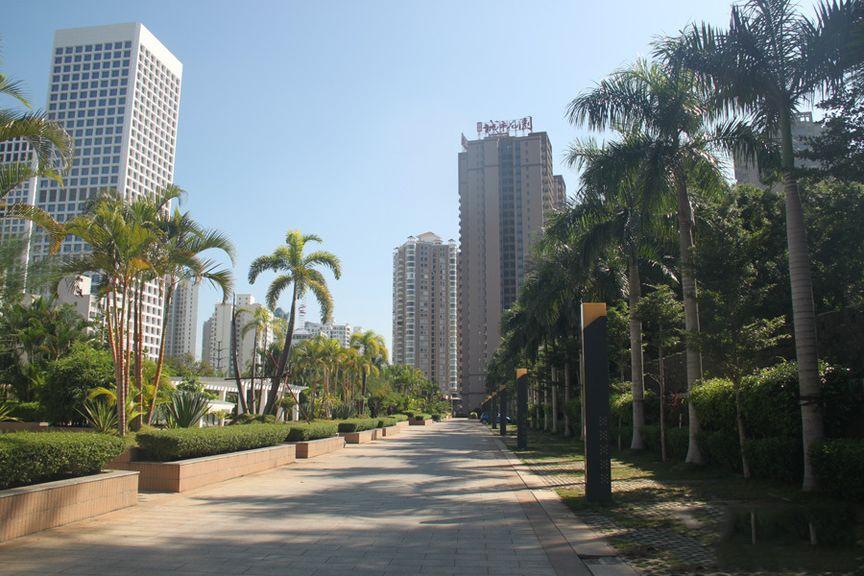 国贸城市花园实景图