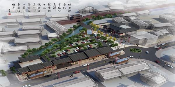 新合作·虹桥路商业街配套图