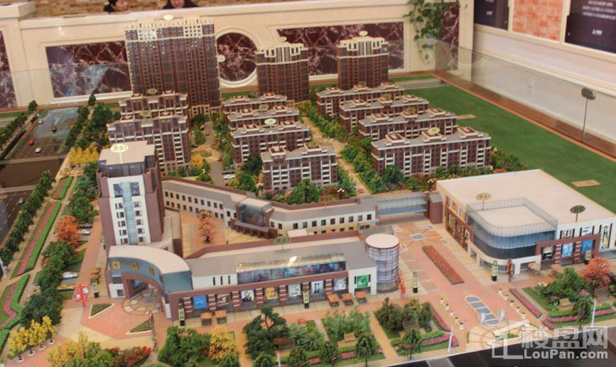 丝绸之路·泰州广场实景图
